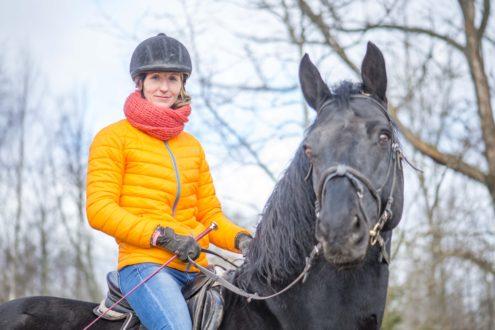 Гуна Германе - тренер верховой езды в Стамариене
