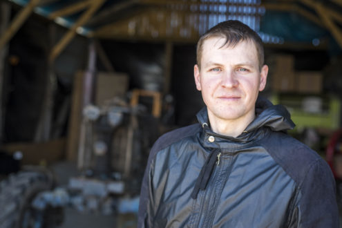 TUESI.LV | Artis Ķūsis - bioloģiskās saimniecības īpašnieks